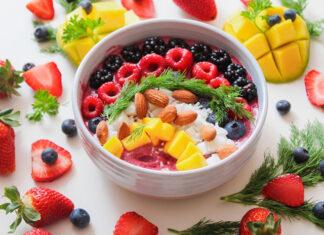 Zdrowe przekąski i pomysł na lunch do biura